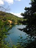 Jezero di Plivsko - Jajce fotografie stock libere da diritti