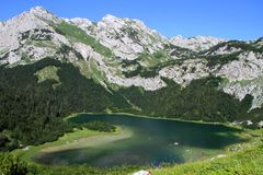Jezero Montenegro di Trnovacko Fotografie Stock Libere da Diritti