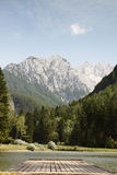 Jezersko lake, Slovenia Royalty Free Stock Images