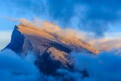jezior góry rundle vermillion Obraz Royalty Free