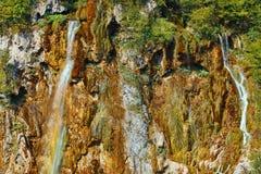 jezior park narodowy plitvice siklawy Zdjęcia Stock