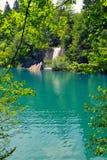 jezior park narodowy plitvice siklawy Fotografia Royalty Free