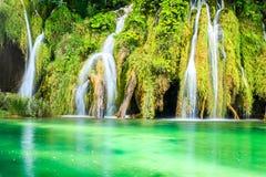 jezior park narodowy plitvice siklawy Obraz Royalty Free