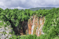 jezior park narodowy plitvice siklawy Chorwacja Zdjęcia Royalty Free