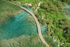 jezior park narodowy plitvice siklawy Chorwacja Fotografia Royalty Free