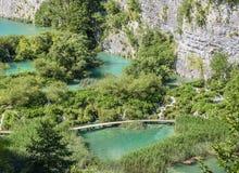 jezior park narodowy plitvice siklawy Chorwacja Fotografia Stock