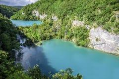 jezior park narodowy plitvice siklawy Chorwacja Obraz Royalty Free