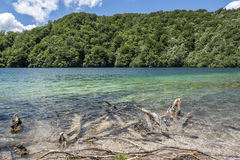 jezior park narodowy plitvice siklawy Chorwacja Obrazy Stock