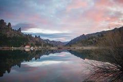 7 jezior przejażdżka Obrazy Stock