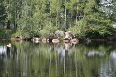 jeziora 2 cudowne Obrazy Stock