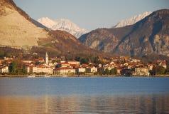 jeziora baveno maggiore obraz royalty free
