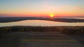 Jeziora Beloye i Naroch w Białoruś obraz royalty free