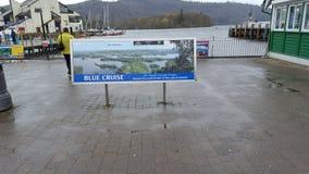 Jeziora cartmel windermere łódkowata przejażdżka Obrazy Stock