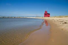 jeziora domowy światło Michigan Zdjęcie Royalty Free