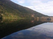 Jeziora i góry Zdjęcia Royalty Free