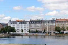 Jeziora, Kopenhaga Obraz Stock