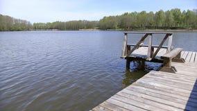 Jeziora Lithuania zbiory wideo