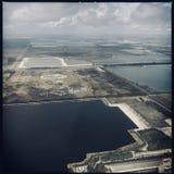 Jeziora na Południowym Floryda obraz royalty free