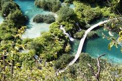 jeziora plitvice Zdjęcie Stock