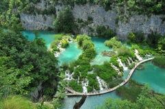 jeziora plitvice Zdjęcia Royalty Free