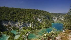 jeziora plitvice Obraz Royalty Free