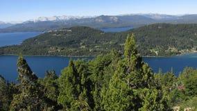 Jeziora południowy Argentyna Zdjęcia Royalty Free