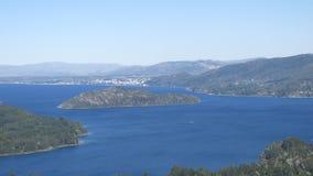 Jeziora południowy Argentyna Zdjęcie Stock