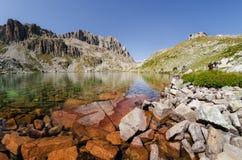 Jeziora Podgórscy Fremamorta, Włochy Obraz Stock