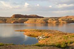 jeziora Powell peninsul krajobrazu Obrazy Royalty Free