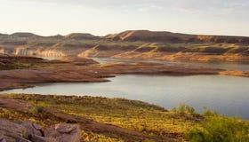 jeziora Powell woda gruntowa Zdjęcie Stock