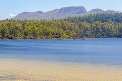 Jeziora St Clair, Tasmania - Obrazy Stock