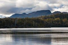 Jeziora St Clair Tasmania Zdjęcie Stock
