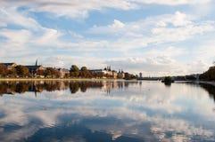 Jeziora w Kopenhaga Dani Zdjęcia Stock