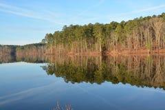 jeziora wciąż fotografia stock