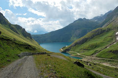 jeziorna ścieżka Obraz Royalty Free