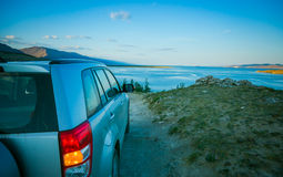Jeziorna Baikal zatoka Obrazy Royalty Free
