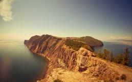 Jeziorna Baikal zatoka Fotografia Royalty Free