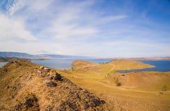Jeziorna Baikal zatoka Zdjęcia Royalty Free