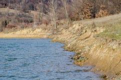 Jeziorna brzeg linia zdjęcia stock