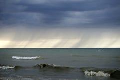 Jeziorna burza Zdjęcia Stock