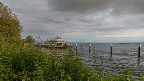 Jeziorna Constance Samochodowa czarodziejka podczas burzy zdjęcie wideo