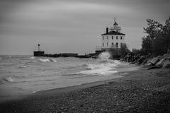 Jeziorna Erie latarnia morska Obrazy Stock
