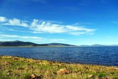 jeziorna góra Zdjęcia Royalty Free