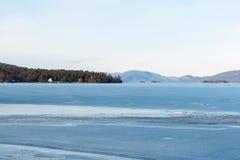 Jeziorna George zima Zdjęcie Stock