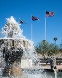 Jeziorna Havasu fontanna Obrazy Stock