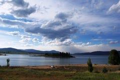 Jeziorna Jindabyne sceneria Zdjęcie Royalty Free