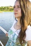 jeziorna kobieta Fotografia Royalty Free
