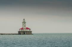 jeziorna latarnia morska Michigan Obraz Royalty Free