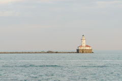 jeziorna latarnia morska Michigan Obrazy Royalty Free