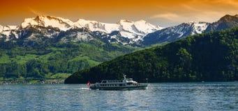 Jeziorna Lucerna zdjęcie stock